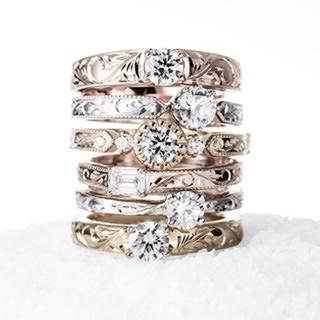 ハワイアンジュエリーの婚約指輪